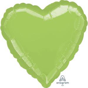 11'' M.LIME GREEN HEART