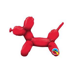 M.14'' BALLOON DOG RED