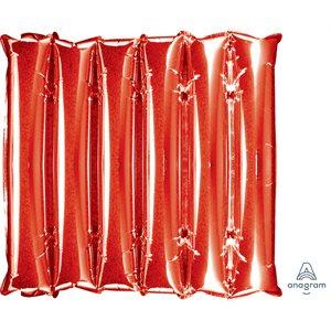 "20""X21""M.HAL DECORATOR PANEL RED"