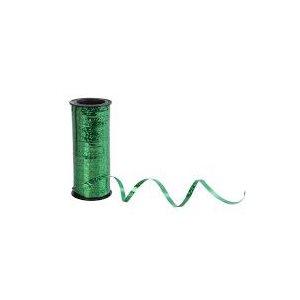 CURLIN RIBBON GREEN METALIC250