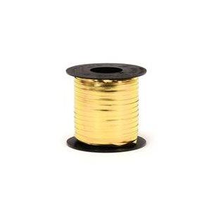 CURLING RIBBON GOLD METAL 250Y