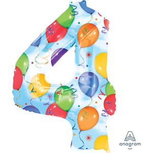 4 BALLOONS & STREAMERS H / S