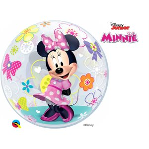 "22""M.MINNIE MOUSE BOW-TIQUE BUBBLES"