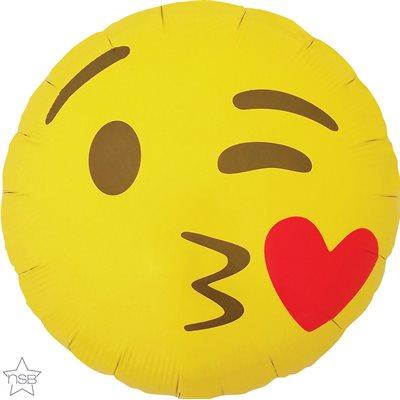 M 18 Emoticone Bec En Coeur