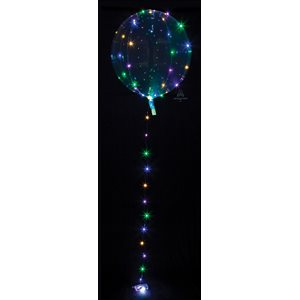 18''M.CRYSTAL CLEARZ MULTI COLOR LIGHTS