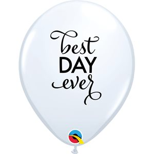 B.11'' BEST DAY EVER BLANC P / 50