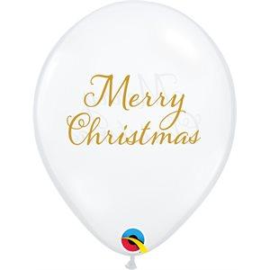 11'' B. SIMPLY MERRY CHRISTMAS CLAIR P / 50