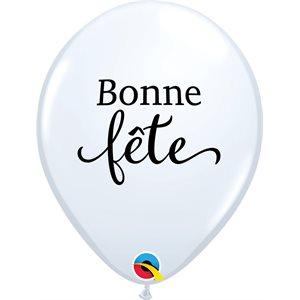 B.11'' BONNE FETE BLANC P / 50