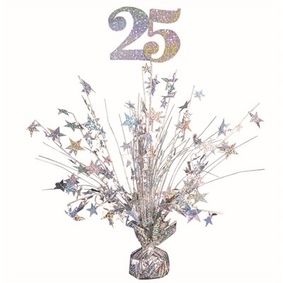 18'' SPECIAL OCCASION 25 ARGENT